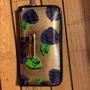Betsy Johnson Floral Wallet